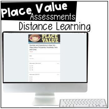 Place Value Digital Assessment - Google Forms