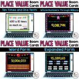 Place Value Digital Boom Task Cards Bundle