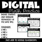 Place Value Digital Math Practice for 2nd Grade