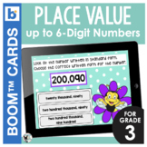 Place Value Digital Task Cards