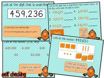 Place Value & Digits (through hundred thousands) Flipchart