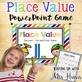 Place Value - Discover, Find, and Color Game