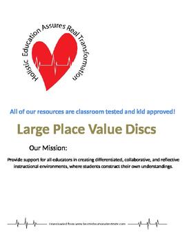 Place Value Discs Large