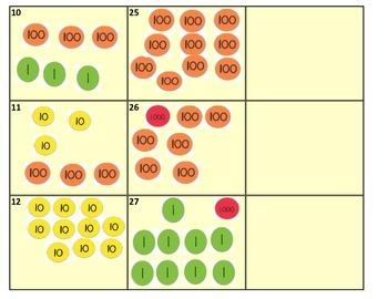 Place Value Disks Task Cards (TEKS 2.2A)