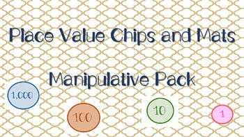 Place Value Disks and Manipulative Mat: Common Core Aligned