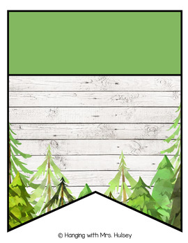 Place Value Display (Forest and Shiplap)