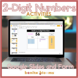 Place Value Distance Learning 2-digit Numbers