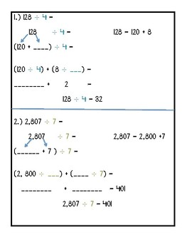 Place Value Division