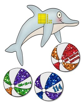 Place Value:  Dolphins and Beach Balls