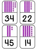 Place Value Base Ten Blocks Dominoes Math Game