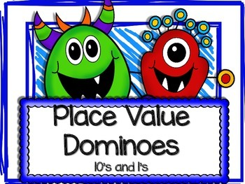 Place Value Dominoes 10's and 1's