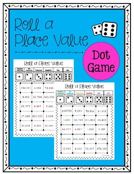 Place Value Dot Game