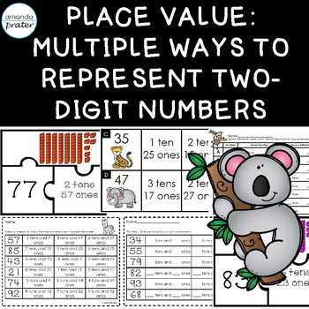 Place Value: Representing Double Digit Numbers in Multiple Ways