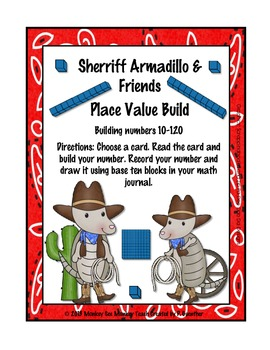 Place Value ( Drawing and Visual Discrimination) 10  to 120 / Armadillo