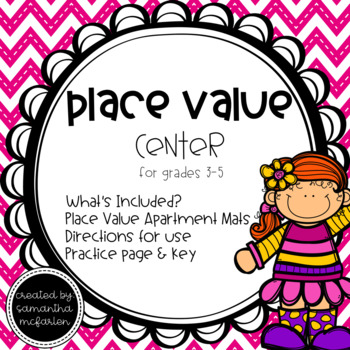 Place Value Dry Erase Center