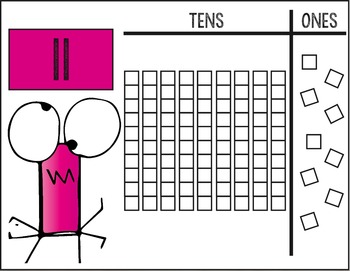 Place Value (Dry Erase Mats/Building Mats) Tens and Ones (