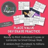 Place Value Dry Erase Practice