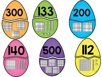 Place Value Easter Eggs