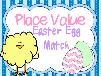 Place Value Easter Match