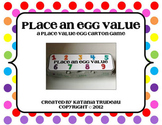Place Value Egg Carton Game