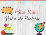 Place Value English & Spanish/ Valor de posición