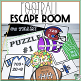 Math Escape Room: Football Theme