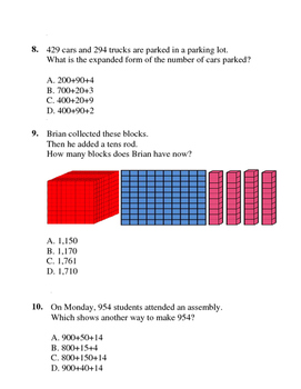 Place Value Exam (40 Questions)