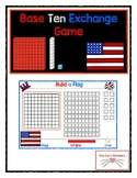 Place Value Exchange Build a Flag 4th July