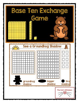 Place Value Exchange Game Groundhog Day