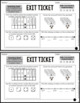 Place Value Exit Tickets Differentiated Math Assessments Quick Checks