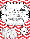 Place Value Exit Tickets: Slips for Math {TEKS and Common Core Aligned}