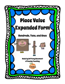 Place Value - Expanded Form