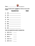 Place Value / Expanded Form