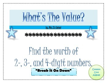 Place Value/Expanded Form Puzzlers