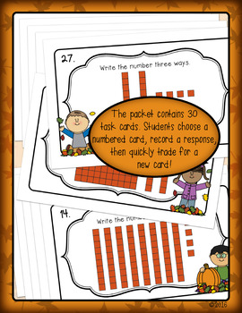 Place Value Expanded Notation Math Review Activity for First & Second Grade