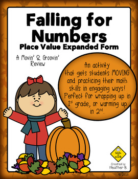 Place Value Expanded Notation Math Review Activity for Fir