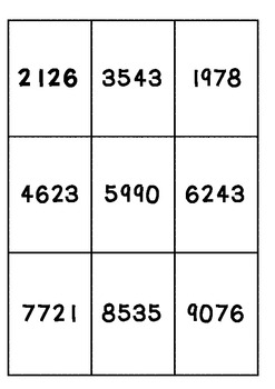 Place Value Expanded notation matching cards with MAB/Base ten pictures