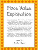 Place Value Exploration 6-digits