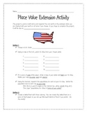 Place Value Extension Activity