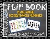 FLIP BOOK Place Value 6 Digit Whole Numbers Virginia SOL 3.1a