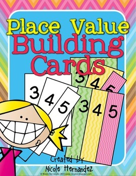 Place Value FREE- Building Cards