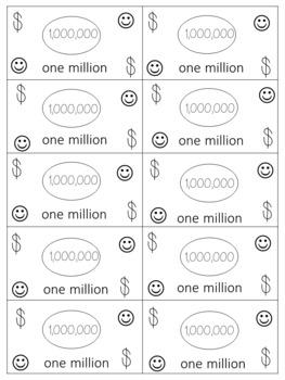 Place Value Math Money