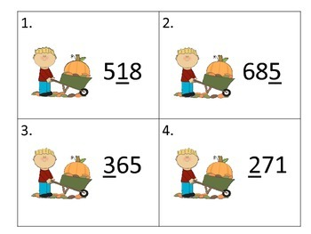 Place Value -- Fall Theme