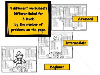 Place Value Worksheets, Task Cards, Centers, and Assessments