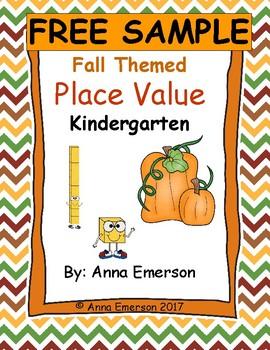 Place Value Fall Theme FREE SAMPLE
