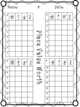 Place Value Family~ Task Cards