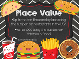 Place Value (Fast Food and Project Based Learning)