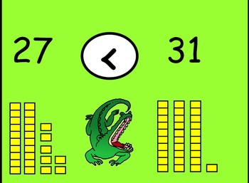 Place Value: Feed The Gator!