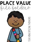 Place Value File Folders