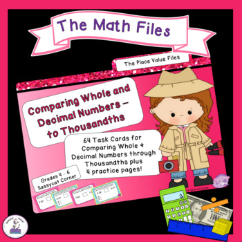 Place Value Comparing Whole & Decimal Numbers to Thousandt